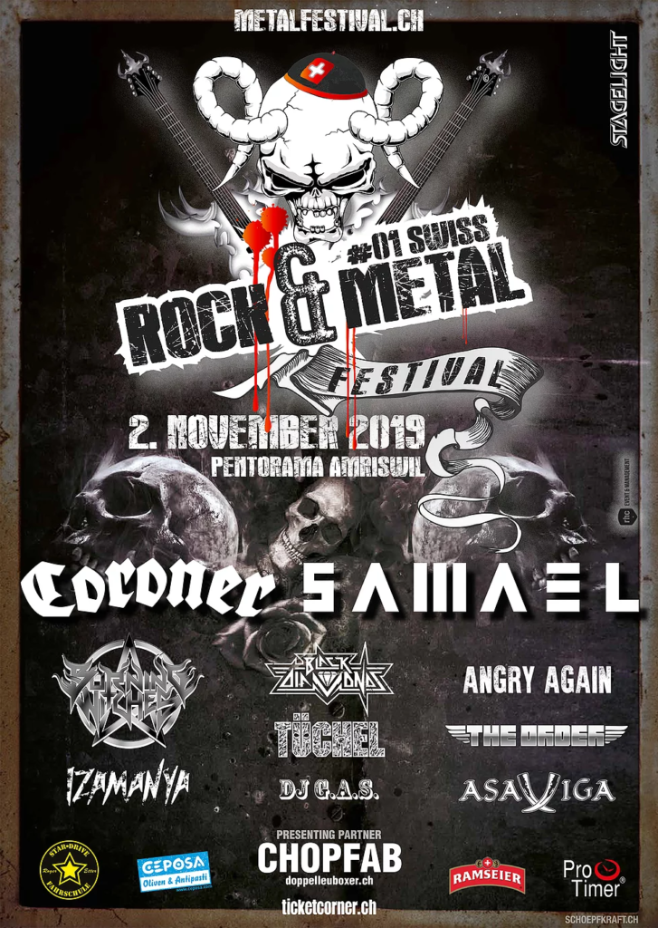 #01 Swiss Rock & Metal Festival Amriswil